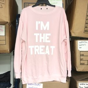 NWMD Wildfox I AM THE TREAT Oversized Sz XS